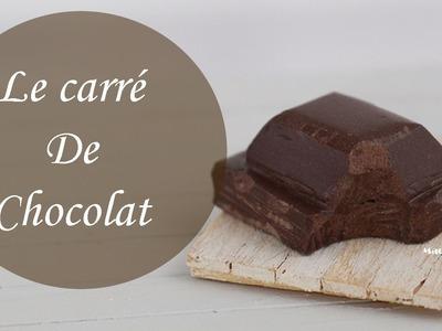 Tuto: Carré de Chocolat