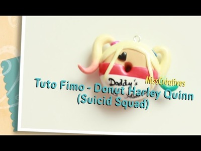 Tuto Fimo - Donut Harley Quinn (Suicid Squad)
