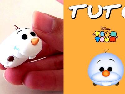 TUTO FIMO | Tsum Tsum Olaf (de la Reine des Neiges)