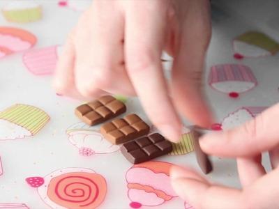 Tuto vidéo bijoux en fimo : création de bijoux chocolat