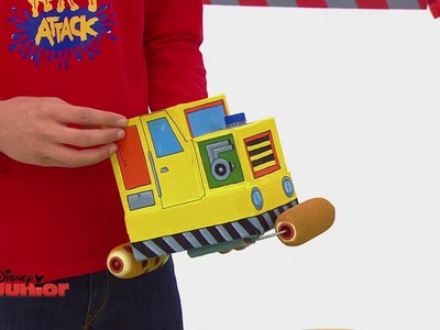 Art Attack - Le camion rouleau - Disney Junior - VF