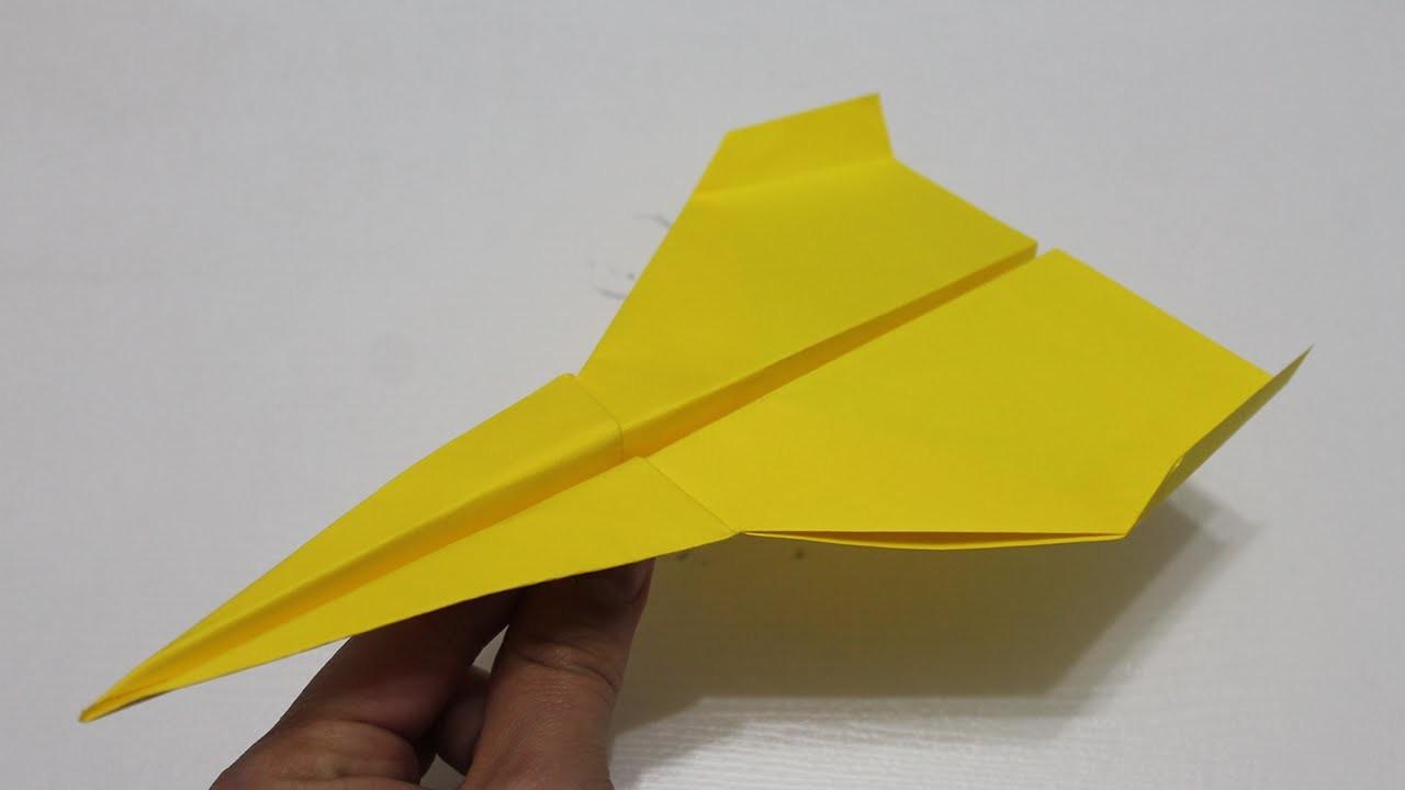 Comment faire un avion en papier qui vole tr s bien - Comment faire un porte avion en papier ...