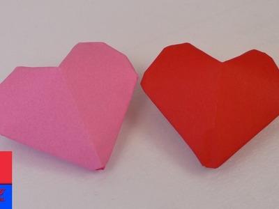 Cœur 3D Origami | Petits cœurs à gonfler | Simple & mignon | Saint Valentin