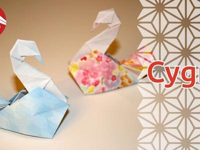 Origami - Cygne - Swan [Senbazuru]