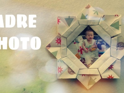 Origami facile - Faire un cadre photo en papier