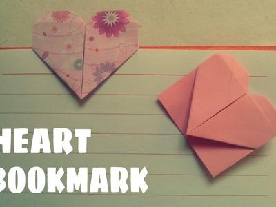 Origami facile - Marque page coeur