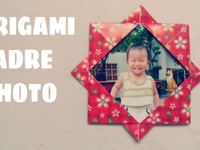 Origami facile - Origami cadre photo