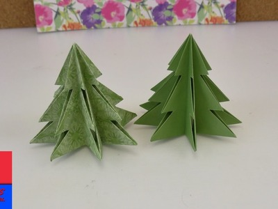 Origami pour Noël | Sapin de Noël DIY à faire soi-même | Idée sympa pour Noël