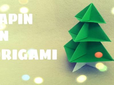 Décoration de Noël - Sapin de Noël en Origami