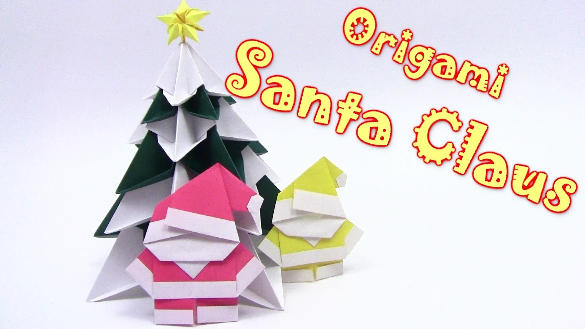 origami christmas santa claus yakomoga origami tutorial