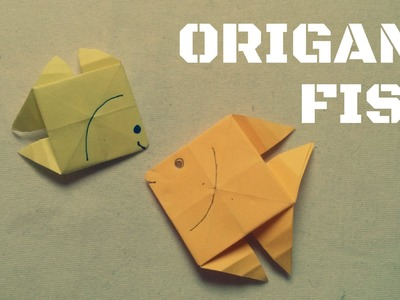 Origami facile - Poisson