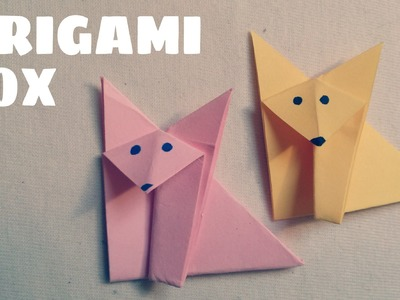 Origami facile - Renard