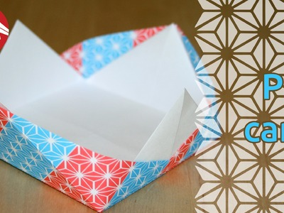 Origami - Plat carré de Tomoko Fuse - Square Dish [Senbazuru]