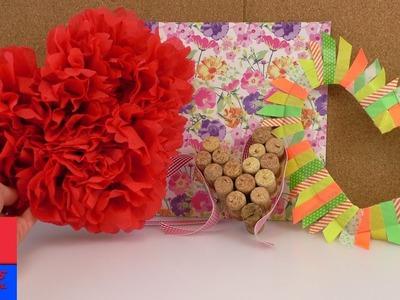 Trois idées de décoration pour la Saint Valentin  ♥  Des coeurs en bouchons de liège
