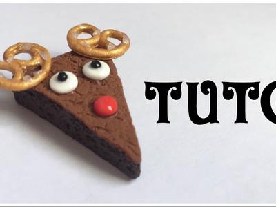 [TUTO Fimo] Brownie Renne de Noël