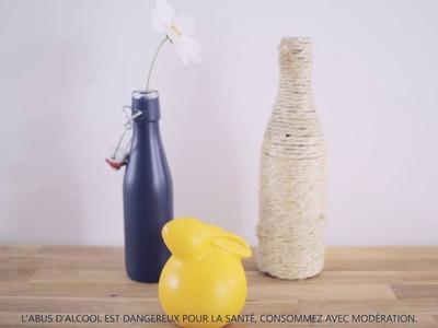 Héra - DIY utiliser une bouteille en décoration