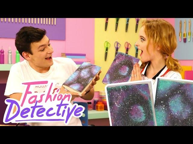 comment faire un super cahier galaxy fashion detective 20. Black Bedroom Furniture Sets. Home Design Ideas