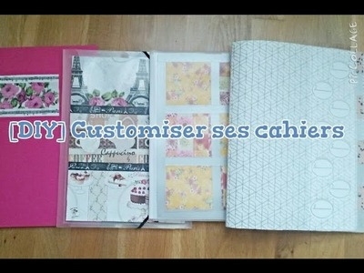 [DIY] Back to School #4 - Personnaliser ses cahiers