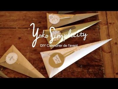 DIY Noël│Calendrier de l'avent│Yoko Simplicity