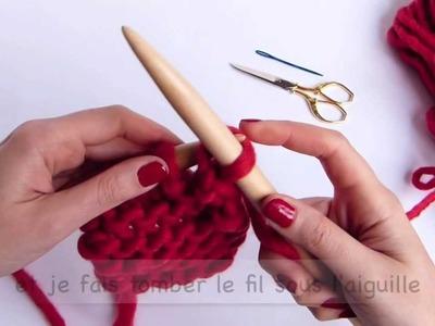 #Tricot - Comment rabattre les mailles et faire les finitions
