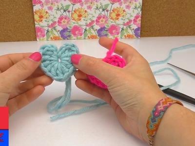 Tricoter des petits coeurs | Instructions très simples pour les débutants | Tricoter