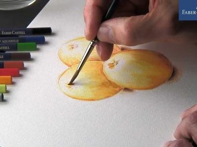 Watercolor pencils | Crayons aquarellables | Lápis de cor aguareláveis