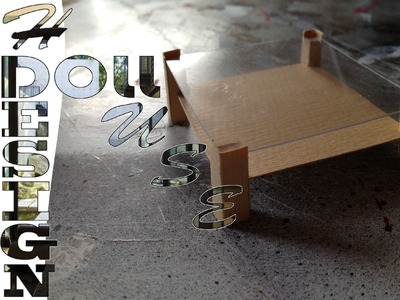 DIY, Doll house, creer une table basse 01