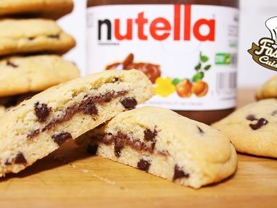 Recette Simple et Rapide : Cookies fourré au Nutella