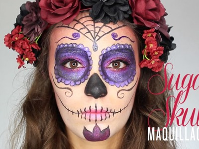 Tuto Maquillage Halloween Sugar Skull