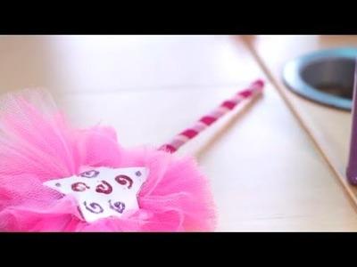 DIY : Faire une baguette de fée