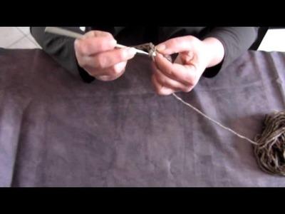 Apprendre la maille serrée au crochet - Tutoriel