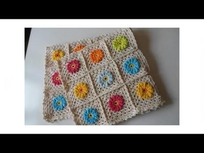 Crochet yarn scrap friday