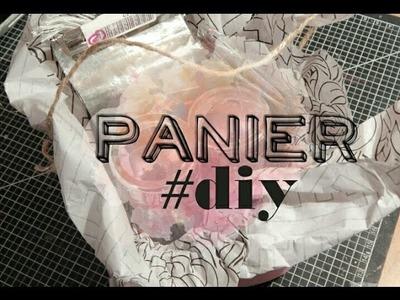 D.I.Y #2: Panier cadeau ou rangement
