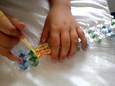 Decoration pour crochet en elastique