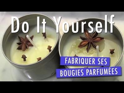 Fabriquer une bougie parfumée - Tuto DIY