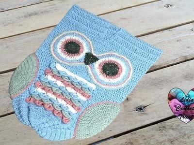 Cocoon hiboux crochet 1.2. Cocoon owl crochet 1.2 (english subtitles)