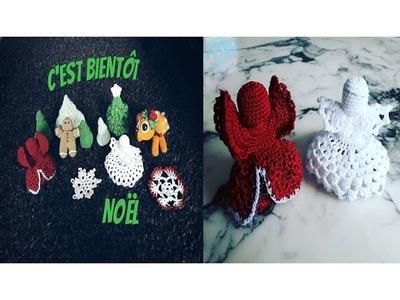 ♫♪ J'avais envie de … Noël au crochet #4 L'ange ♫♪