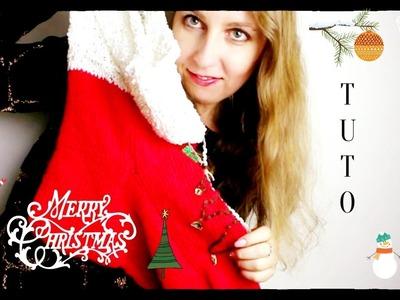 Tricoter chaussette de Noël