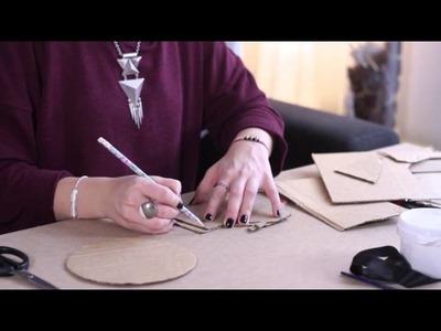 DIY Noël : Tête de cerf en carton