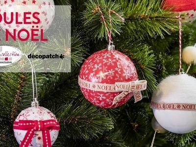 Tuto DIY : Boules de Noël - Noël Cosy