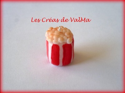 Tuto Fimo Boîte Pop Corn. Polymer Clay Tutorial