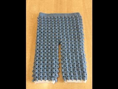 Tuto pantalon au crochet spécial gaucher