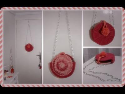 [ DIY ACTION ] Sac Corde Facile - Idée cadeau à faire soi-même . Girly