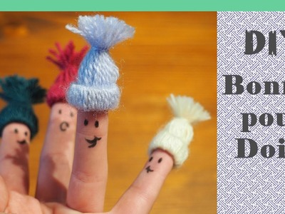 DIY - Mini bonnet en laine