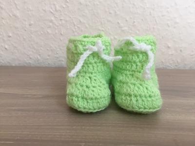 Tuto chausson bébé au crochet