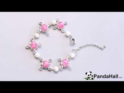Vidéo 81P Tutoriel Pandahall DIY bracelets de chaîne en perles