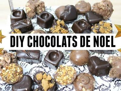 DIY chocolats de Noël maison