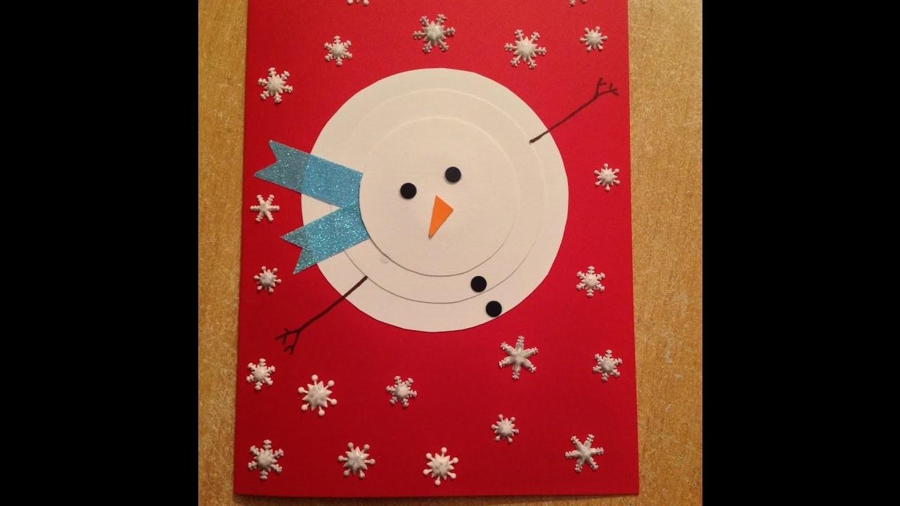 DIY créer de belles cartes de vœux