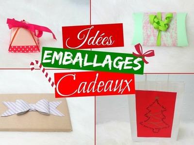 DIY EMBALLAGES CADEAUX POUR NOEL