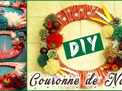✨ [Noël 2016] : DIY : réaliser une couronne de Noël ◈ SIDJIE